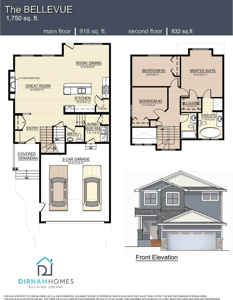 Bellevue I Floorplan