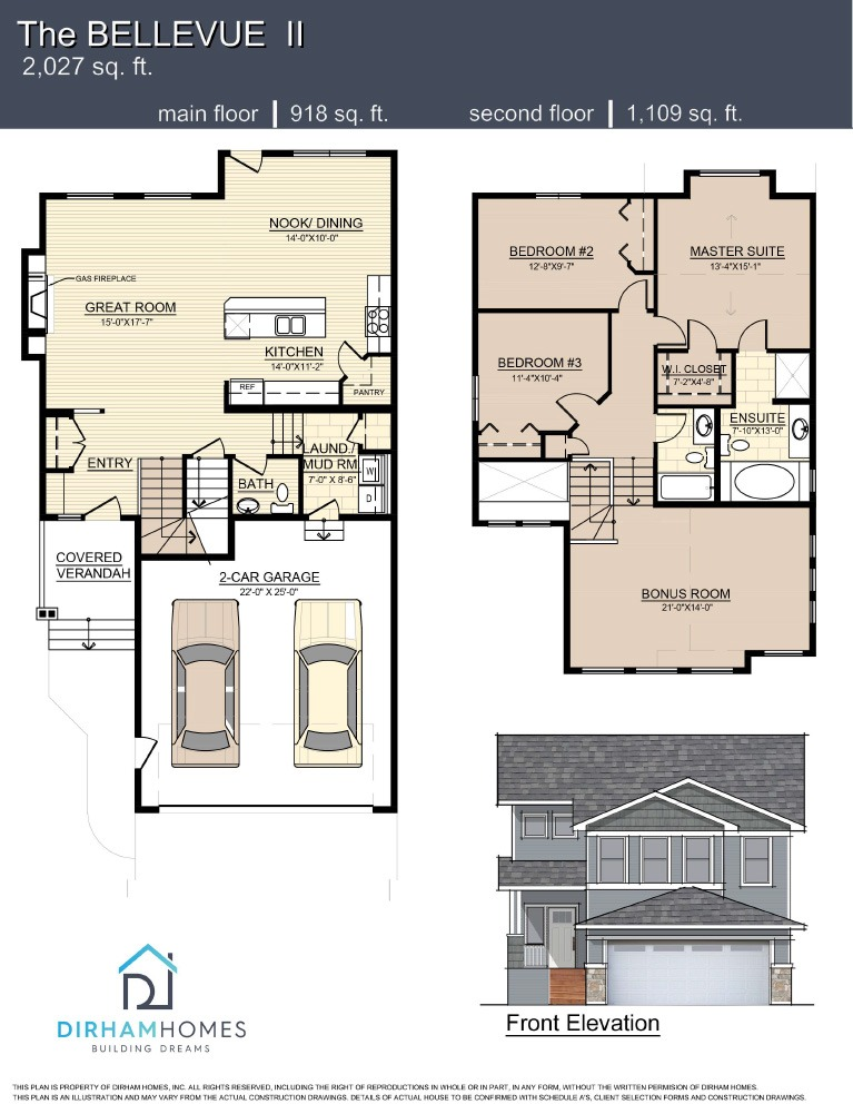 Bellevue II Floorplan