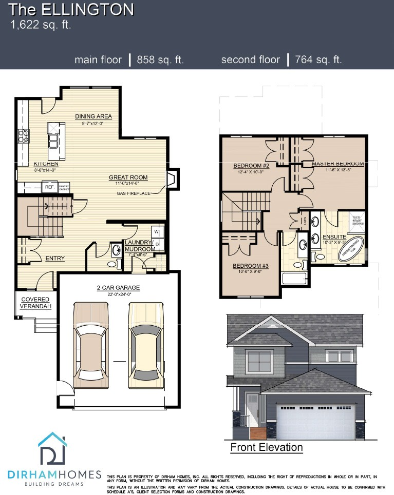 Ellington floorplan