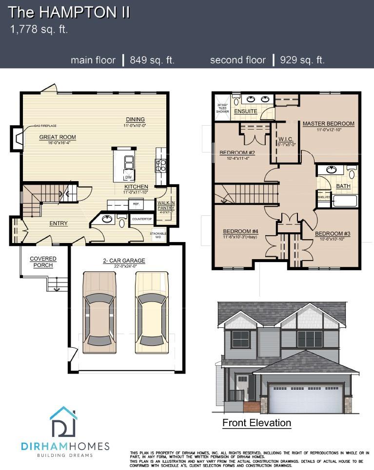 Hampton II Floorplan