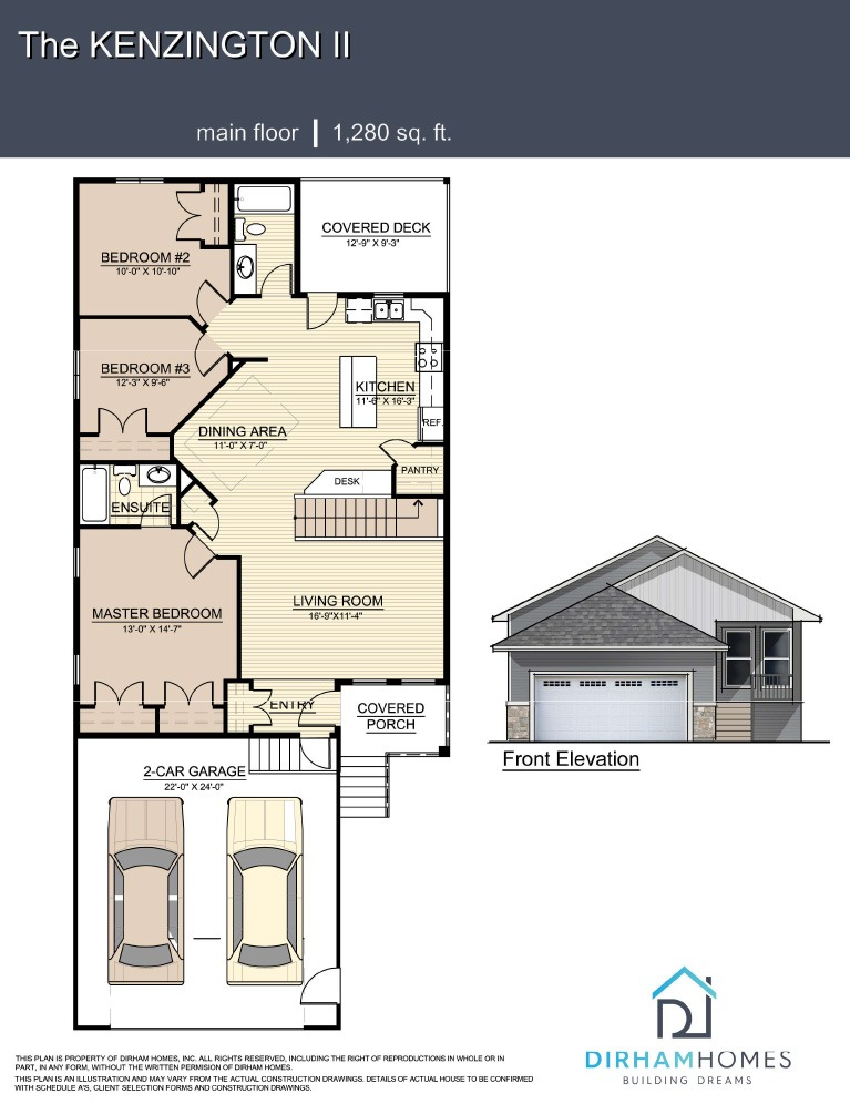 Kenzington Floorplan
