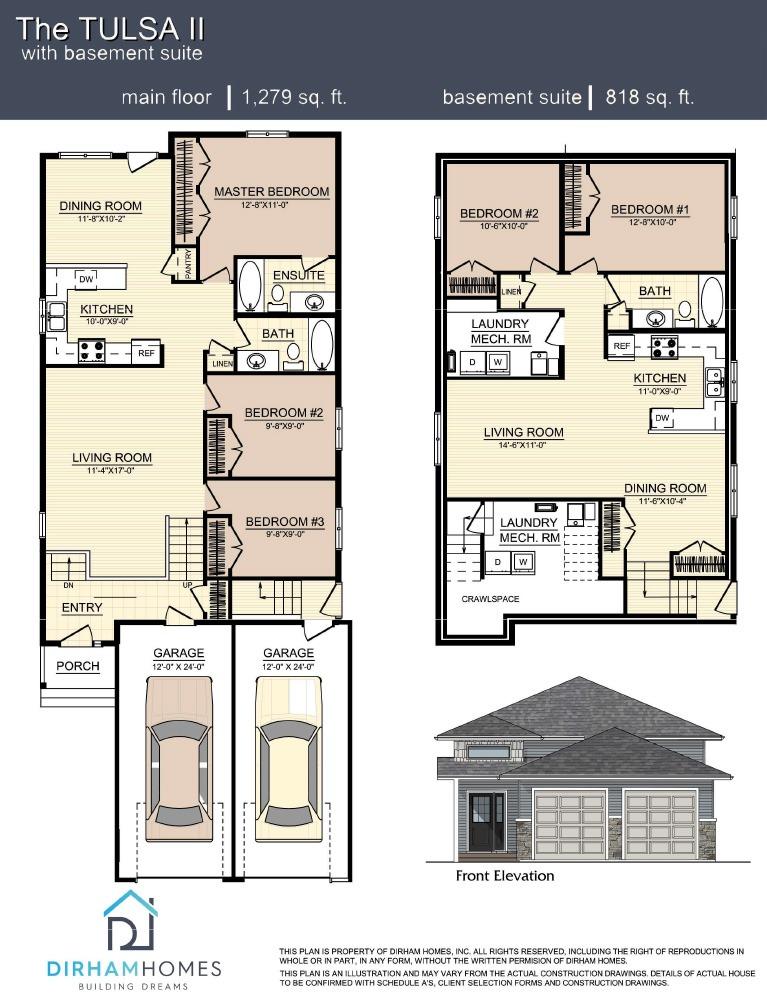 Tulsa II Floorplan