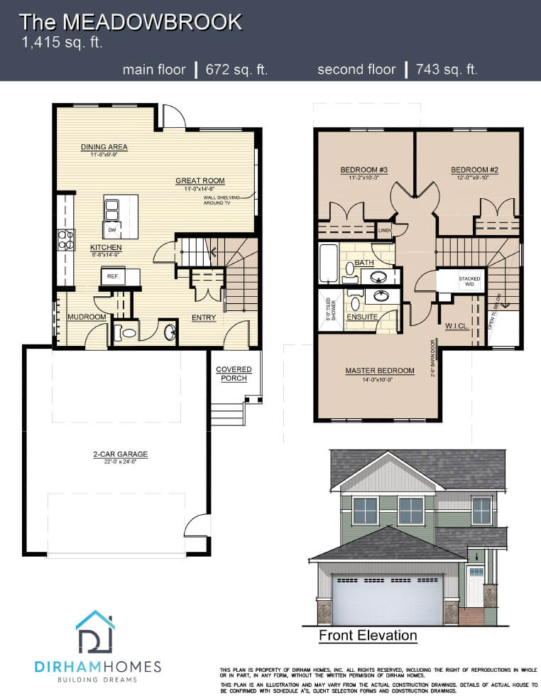 Meadowbrook Floorplan
