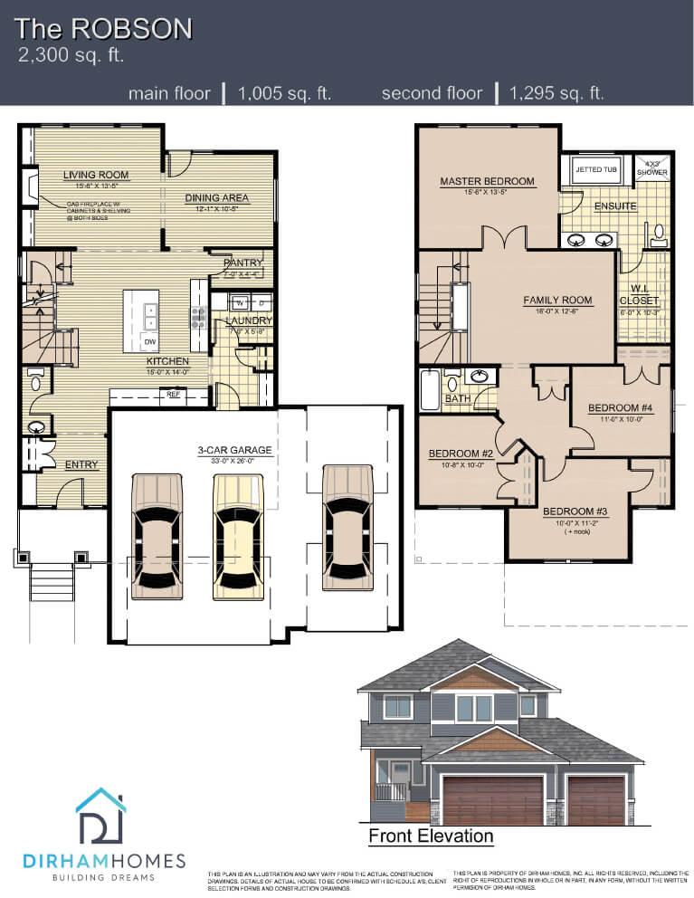 Robson Floorplan